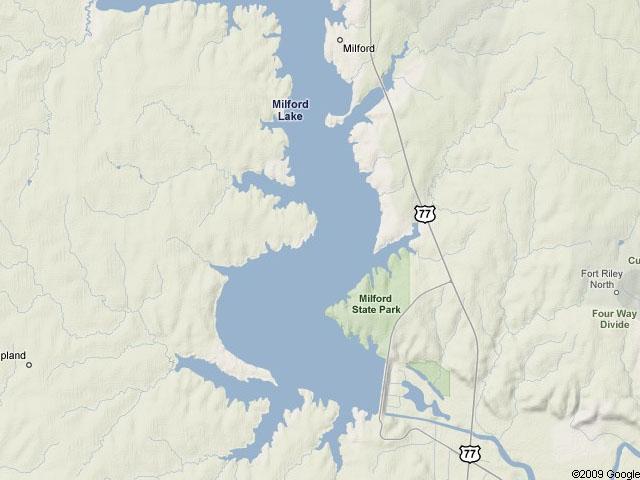 Milford Lake Kansas Map.Kansas Day 14 Fish 50 Trophy Waters